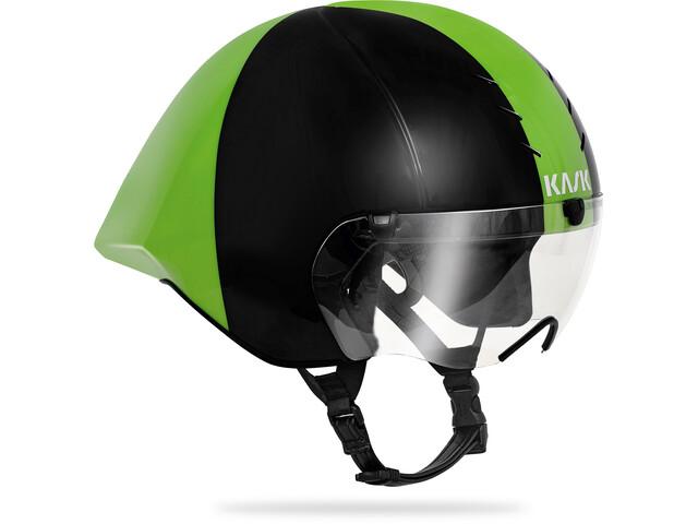 Kask Mistral Kask rowerowy, black/green
